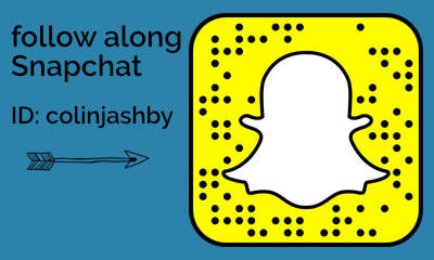 Follow along on Snapchat
